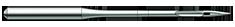 Chromium coated needles